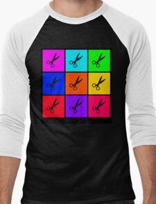 Runs With Scissors Men's Baseball ¾ T-Shirt