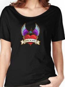 Born To Knit Women's Relaxed Fit T-Shirt