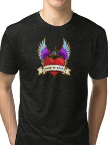 Born To Knit Tri-blend T-Shirt