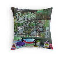 Bert's Homestore Throw Pillow