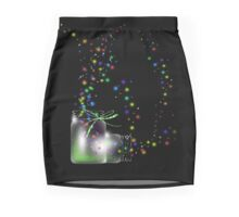 Mason Jars Fireflies Photographic Prints and Posters Mini Skirt