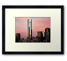 Thursday Morning - Melbourne Framed Print