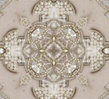 girly Rhinestone lace pearl glamorous vintage Sticker