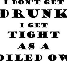 Vintage drinking slogan by Huron