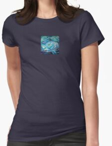 Ogle - Small Design Womens Fitted T-Shirt