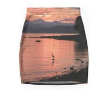 Sunset Heron Mini Skirt