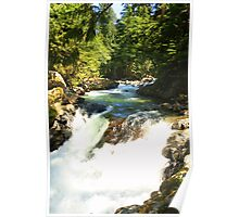 Deception Falls Lower Falls Poster