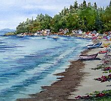 Maple Grove Beach on Camano Island, Washington by BonnieSue
