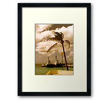 Bonaire, Dutch Antilles Framed Print