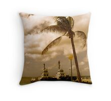 Bonaire, Dutch Antilles Throw Pillow