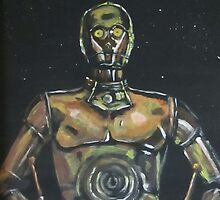 Droid Art by Anne Guimond