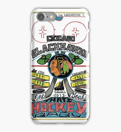 Center Ice iPhone Case/Skin