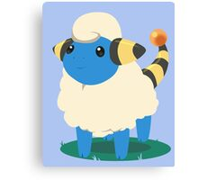 Do androids dream of Mareep? Canvas Print