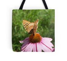Push-me-Pull-you butterfly style Tote Bag