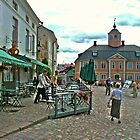 Historical town of Porvoo, Finland by tanmari