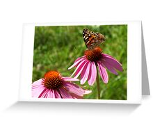 Poised Beauty Greeting Card