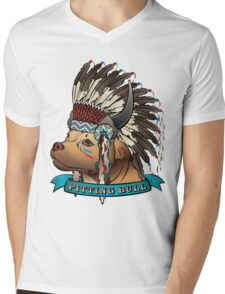 Pitting Bull Mens V-Neck T-Shirt