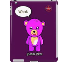 Geek Girl - SwearBear - Wank iPad Case/Skin