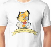 Fox - Shine Bright Like A Diamond Unisex T-Shirt