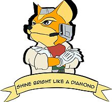 Fox - Shine Bright Like A Diamond by Pat Le Roy