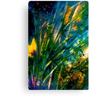 Tropics..Bamboo Night Canvas Print