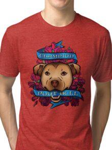 Champion Poot Bull Tri-blend T-Shirt