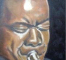 louis Armstrong by ToniBerry