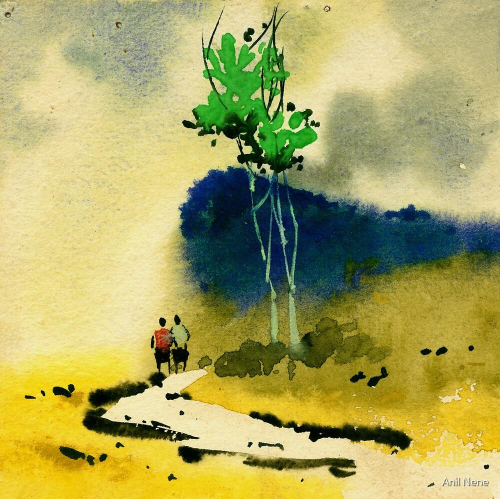 Buddies by Anil Nene