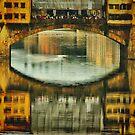 Ponte Vecchio Reflections by Barbara  Brown