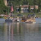 Fireworks Barges by AuntieJ