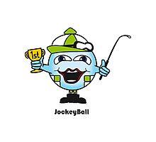 Jockey Ball Photographic Print