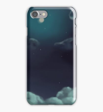 Landscape night iPhone Case/Skin