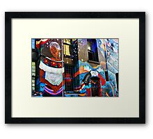 San Francisco Color Framed Print