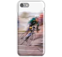 One Lap to Go! iPhone Case/Skin