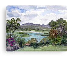 Rosevears Vineyard in Tasmania, Australia Canvas Print