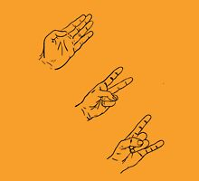 Sex, Drugs, Paper Scissors Rock n Roll. Unisex T-Shirt