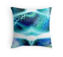 Sitting in Om Throw Pillow