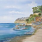 The Sorrento Shoreline in Italy by BonnieSue