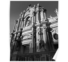 The Cathedral  of Catania  Poster