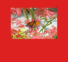 Monarch Among The Red Leaves T-Shirt