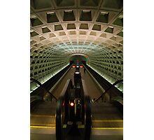DC Metro Underground Photographic Print