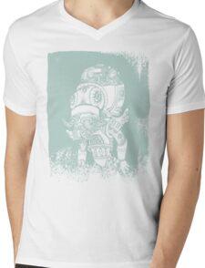 Cthulhu stencil Mens V-Neck T-Shirt