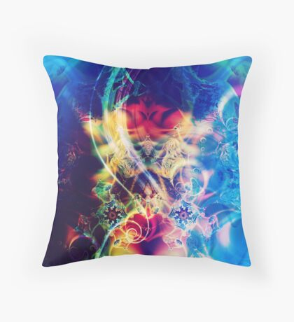 The Crown {Chakra of Consciousness} Throw Pillow