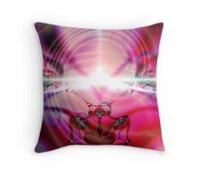 The Meditating Buddha Throw Pillow