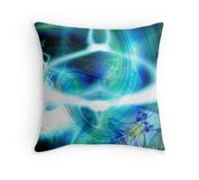 Sitting in Om (ii) Throw Pillow