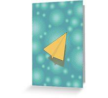 Paper Airplane 117 Greeting Card