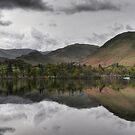 Ullswater reflections by Peter Hammer