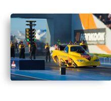 nitro funny car,motorplex, Canvas Print