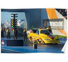 nitro funny car,motorplex, Poster