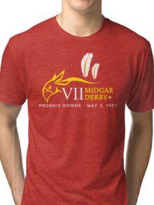 Midgar Derby Tri-blend T-Shirt